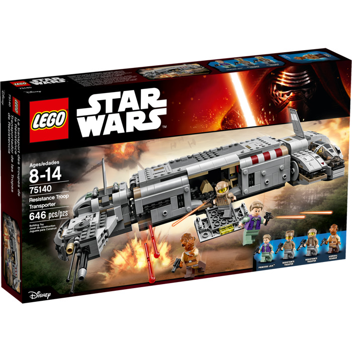 75140 Lego Star Wars Resistance Troop Transporter