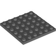 4211134 Platte 6×6 Neu Dunkelgrau