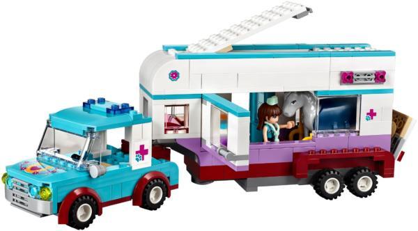 41125: LEGO® Friends Horse Vet Trailer / Pferdeanhänger und Tierärztin