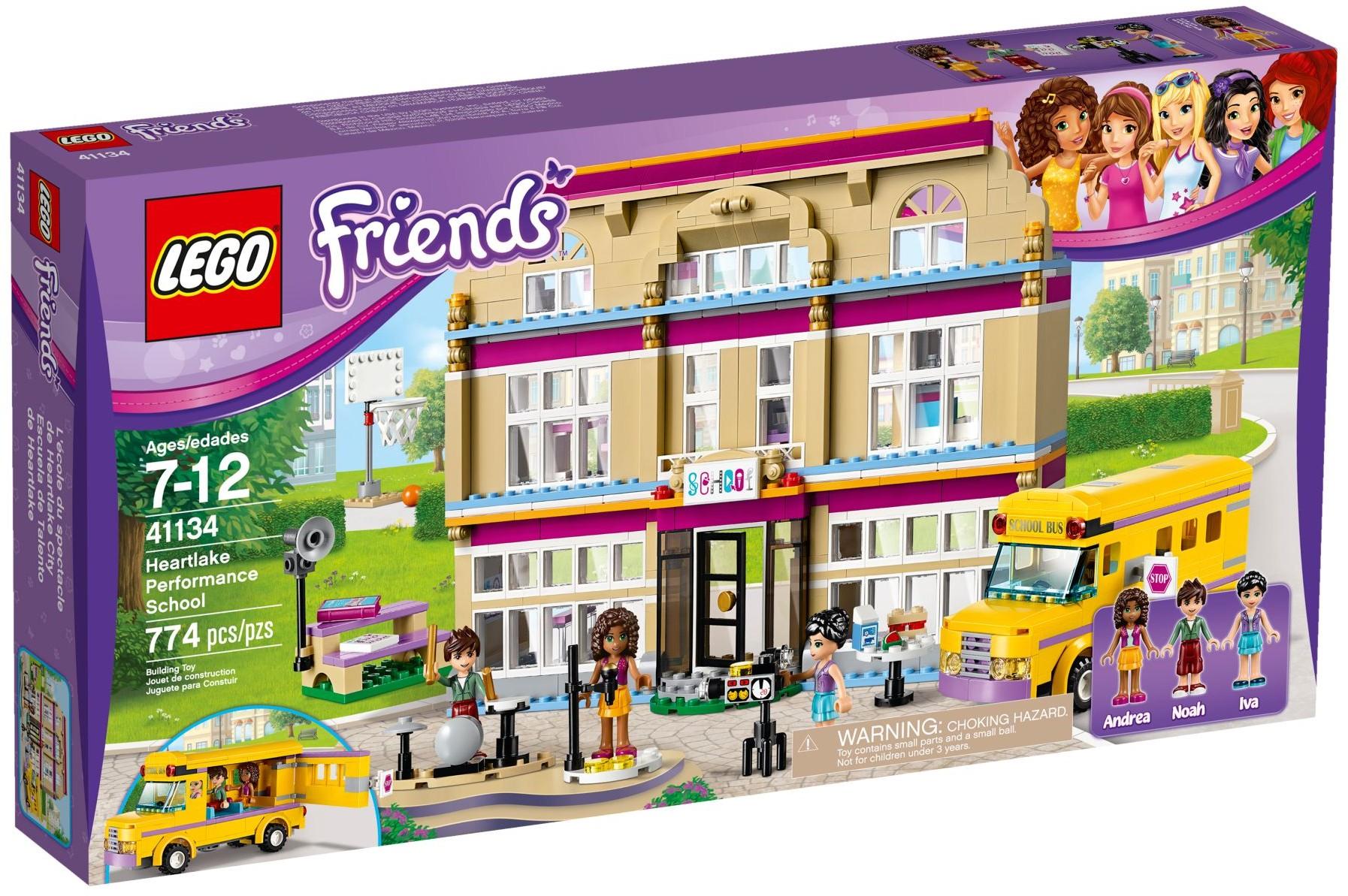 41134 LEGO Friends Heartlake Performance School Heartlake Kunstschule