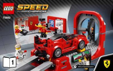75882 Lego Speed Champions Ferrari Fxx K Development Center Ferrari Fxx K Entwicklungszentrum Klickbricks