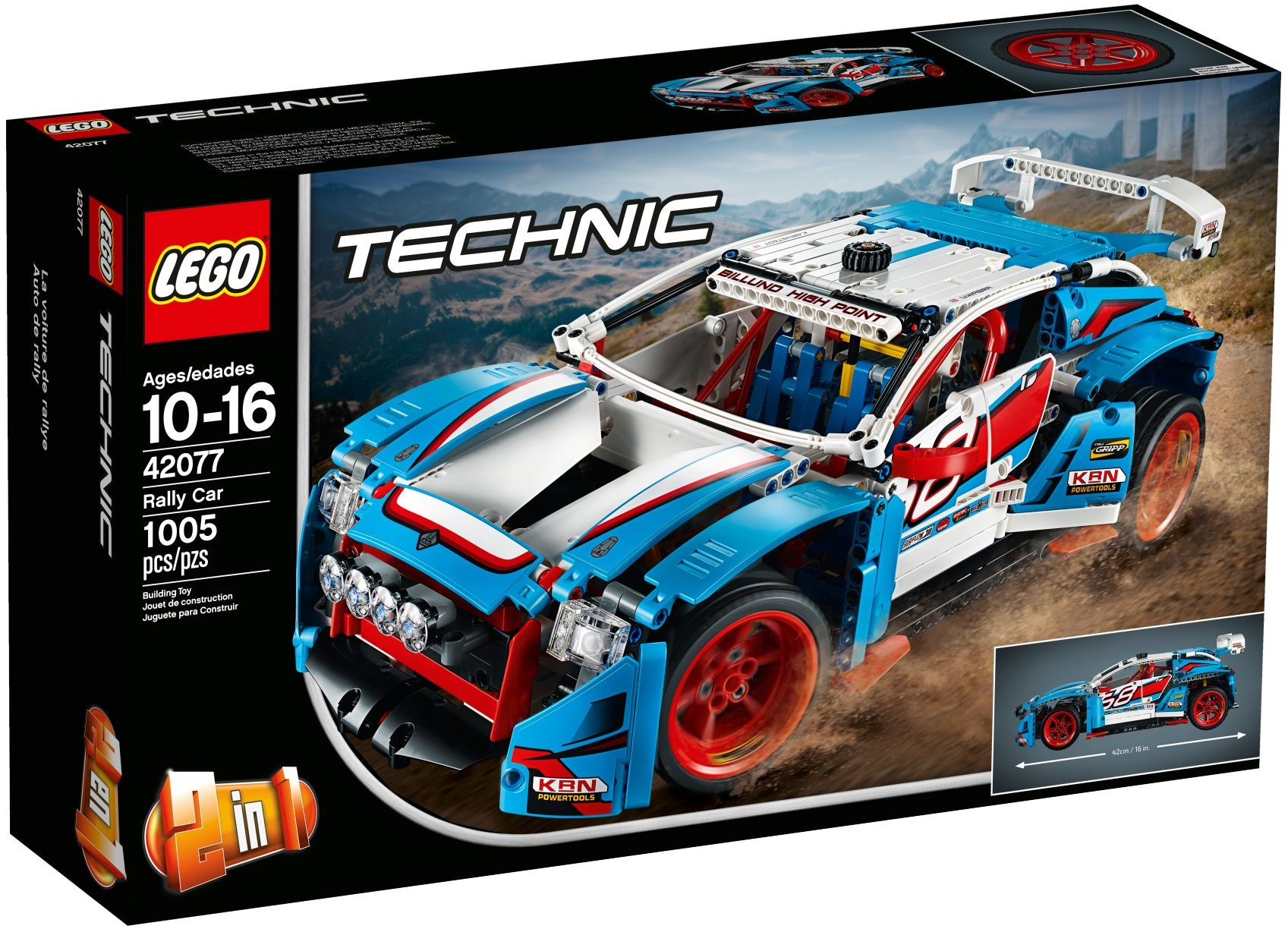 42077: LEGO® Technic Rally Car / Rally Auto