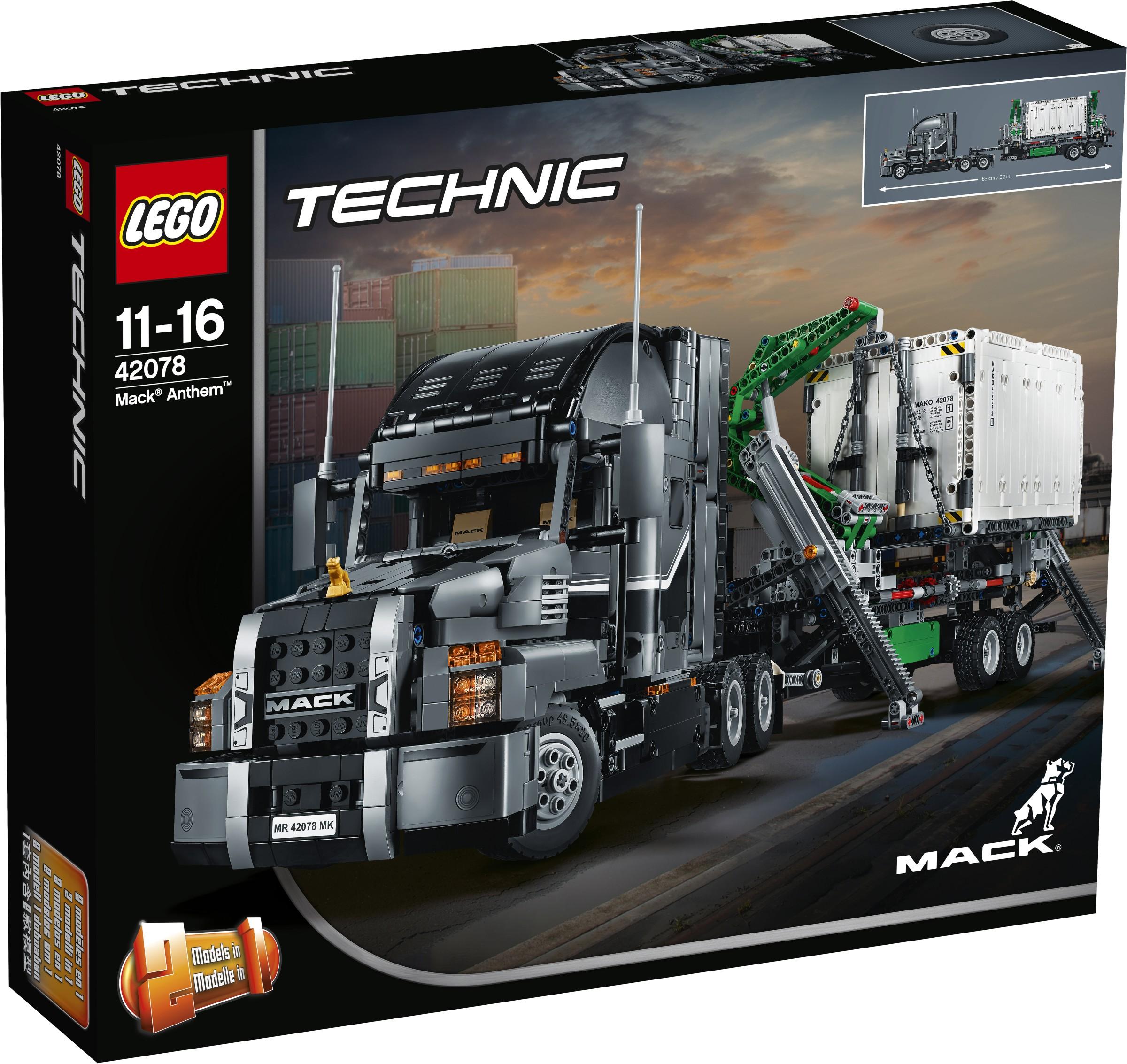 42078: LEGO® Technic Mack Anthem – KlickBricks
