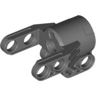 4528038 / 61904 Technic Achs- und Pinverbinderblock 3x4x2 Neu Dunkelgrau