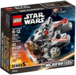 75193 Lego Star Wars Millennium Falcon™ Microfighter