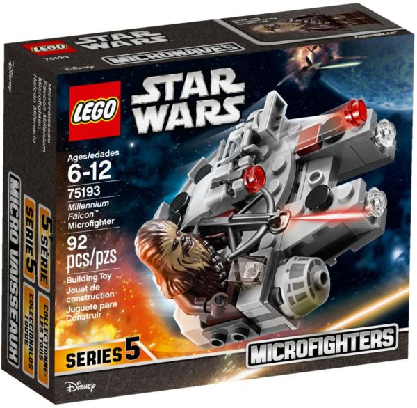 75193 Lego Star Wars Millennium Falcon™ Microfighter