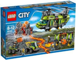 lego city 60125 volcano heavy lift helicopter vulkan schwerlasthelikopter