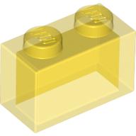 6244907 35743 classic brick 1x2 transparent gelb