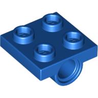 244423 technic lagerplatte 2X2 blau
