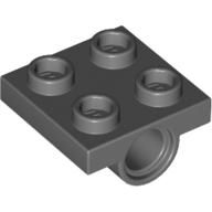4196768 technic lagerplatte 2X2 neu dunkelgrau