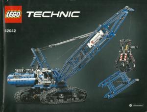42042 LEGO® Technic Bauanleitung Crawler Crane Seilbagger