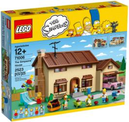 71006 The Simpsons House Haus der Simpsons
