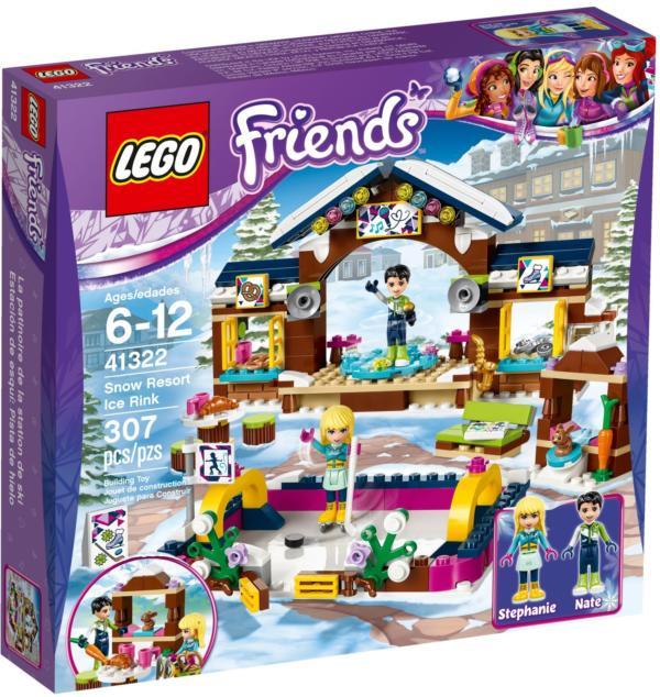 41322 Lego Friends Eislaufplatz im Wintersportort