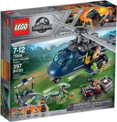 75928 Lego Jurassic World Blues Helicopter Pursuit Blues Hubschrauber Verfolgungsjagd