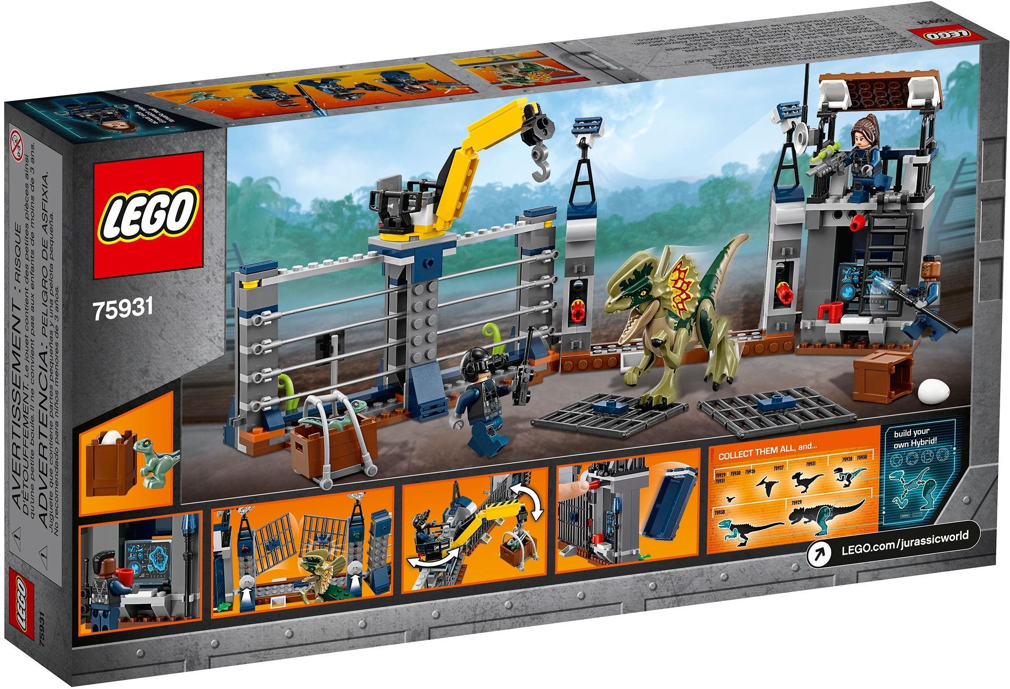 New Lego Jurassic World Minifigure TRACKER from set 75931