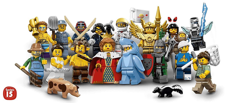 NEU Lego® 71011 Minifiguren Minifigures Serie 15 alle 16 Figuren komplett