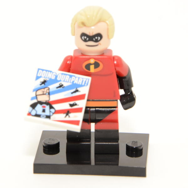 Lego Minifigur Disney's Serie 1 Mr. Incredible Figur 13 (71012)