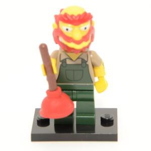 Lego Minifigur The Simpsons Serie 2 Willi 71009