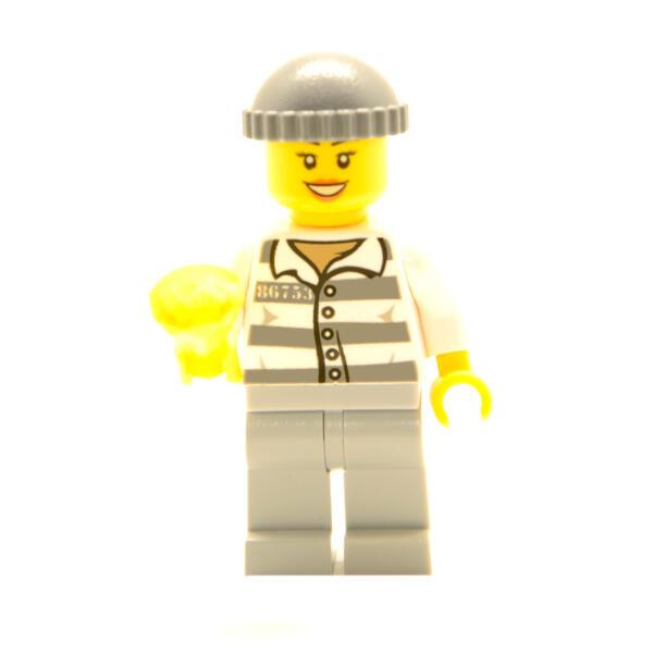 Minifigur Bankräuber weiblich