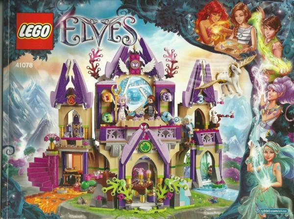 41078: LEGO® Bauanleitung Elves Skyra's Mysterious Sky Castle