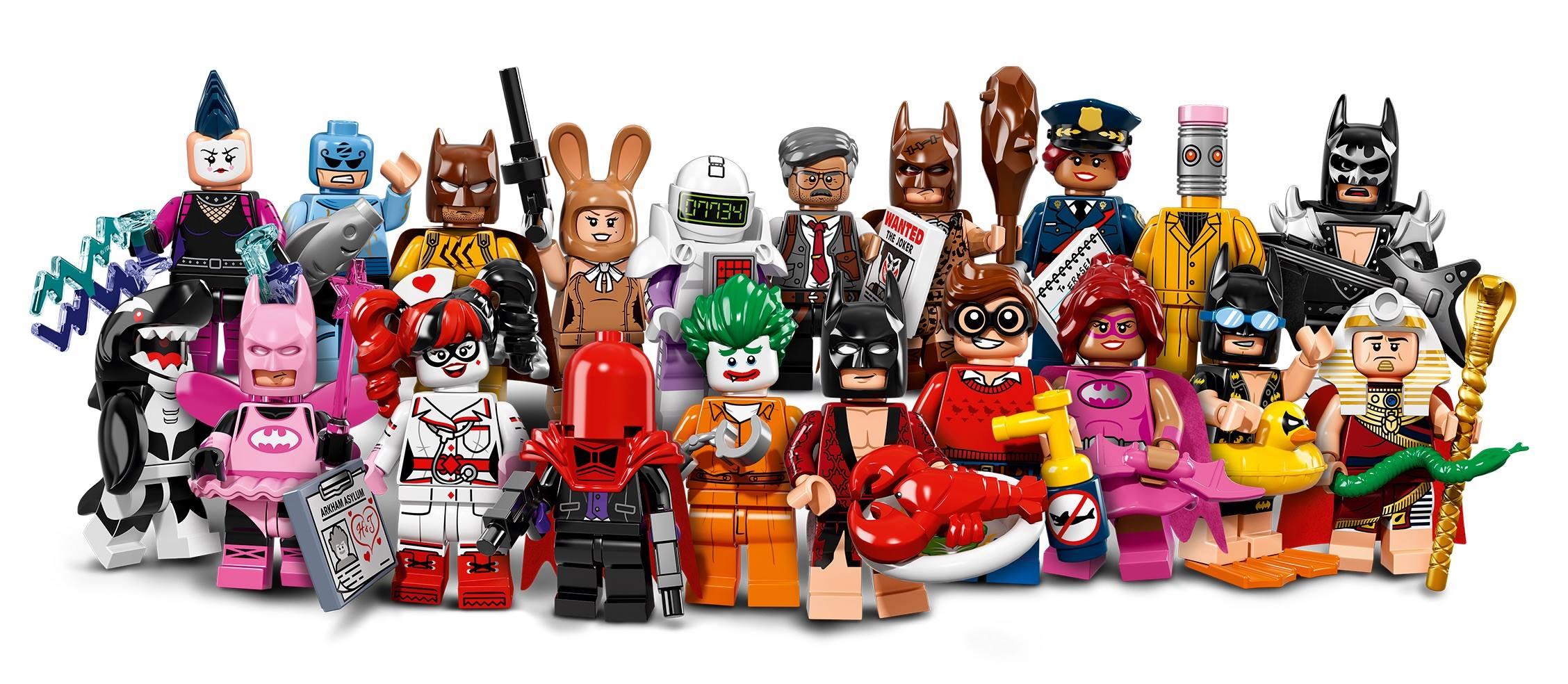 LEGO NEW BATMAN MOVIE SERIES Calculator MINIFIGURE 71017 FIGURE