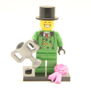 Lego Minifigur Glücksspieler / Kartenspieler (Custom)
