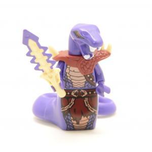 Lego Minifigures Ninjago Chop Rai Custom 70748 70750