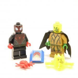 Lego Minifigures Spiderman und Bösewicht Custom
