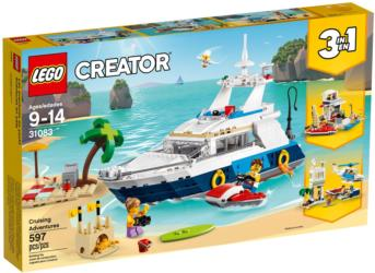 31083 LEGO Creator Cruising Adventures Abenteuer auf der Yacht
