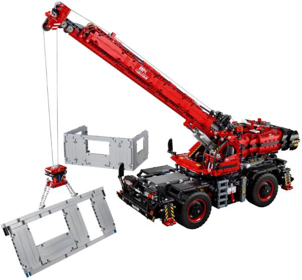 42082 LEGO Technic Rough Terrain Crane Geländegängiger Kranwagen