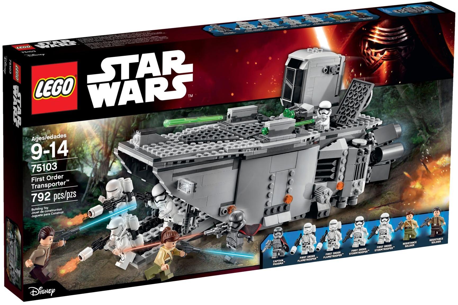 Lego® Star Wars Minifiguren Zubehör 1x Blaster//Waffe in silber  Cpt.Phasma Neu