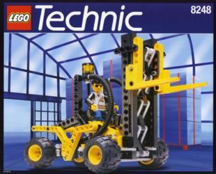 8248 Lego Technic Gabelstapler