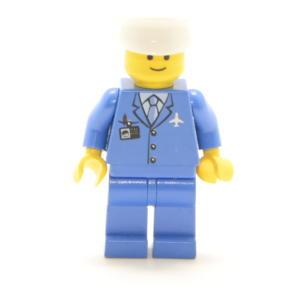 Lego Classic Minifigur Pilot mit Hut Custom