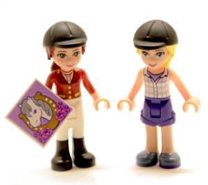 Lego Friends Minifigur Reiterinnen (Custom)