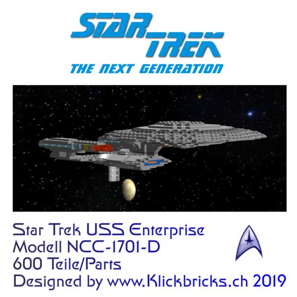 Bauanleitung Lego Enterprise ncc 1701-d