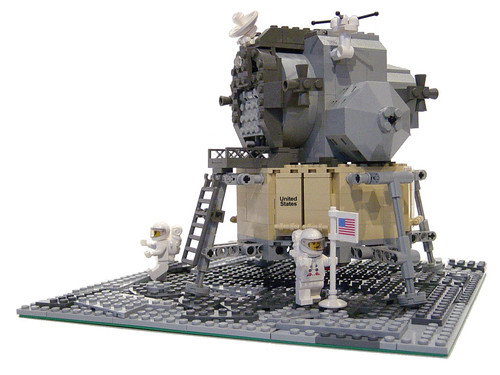 Lego 10029 Discovery Lunar Lander