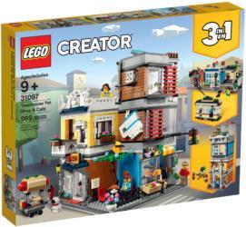 31097 LEGO® Creator Townhouse Pet Shop and Café Stadthaus mit Zoohandlung und Café