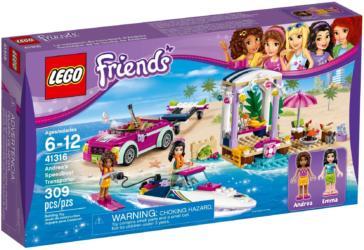 41316: LEGO® Friends Andrea's Speedboat Transporter / Andreas Rennboot-Transporter