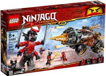 70669: LEGO® Ninjago Cole's Earth Driller / Coles Powerbohrer