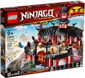 70670: LEGO® Ninjago Monastery of Spinjitzu / Kloster des Spinjitzu