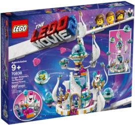 "70838: LEGO® The Lego Movie 2 Queen Watevra's 'So-Not-Evil' Space Palace / Königin Wasimma Si Willis ""gar nicht böser"" Space-Tempel"