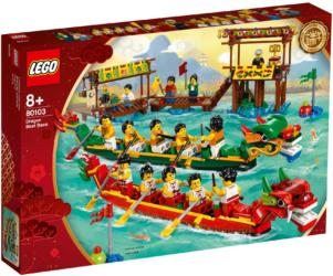 80103: LEGO® Chinese New Year Dragon Boat Race / Drachenbootrennen