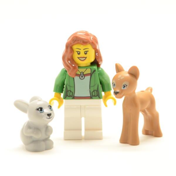 Lego Minifigur die Tierflüsterin