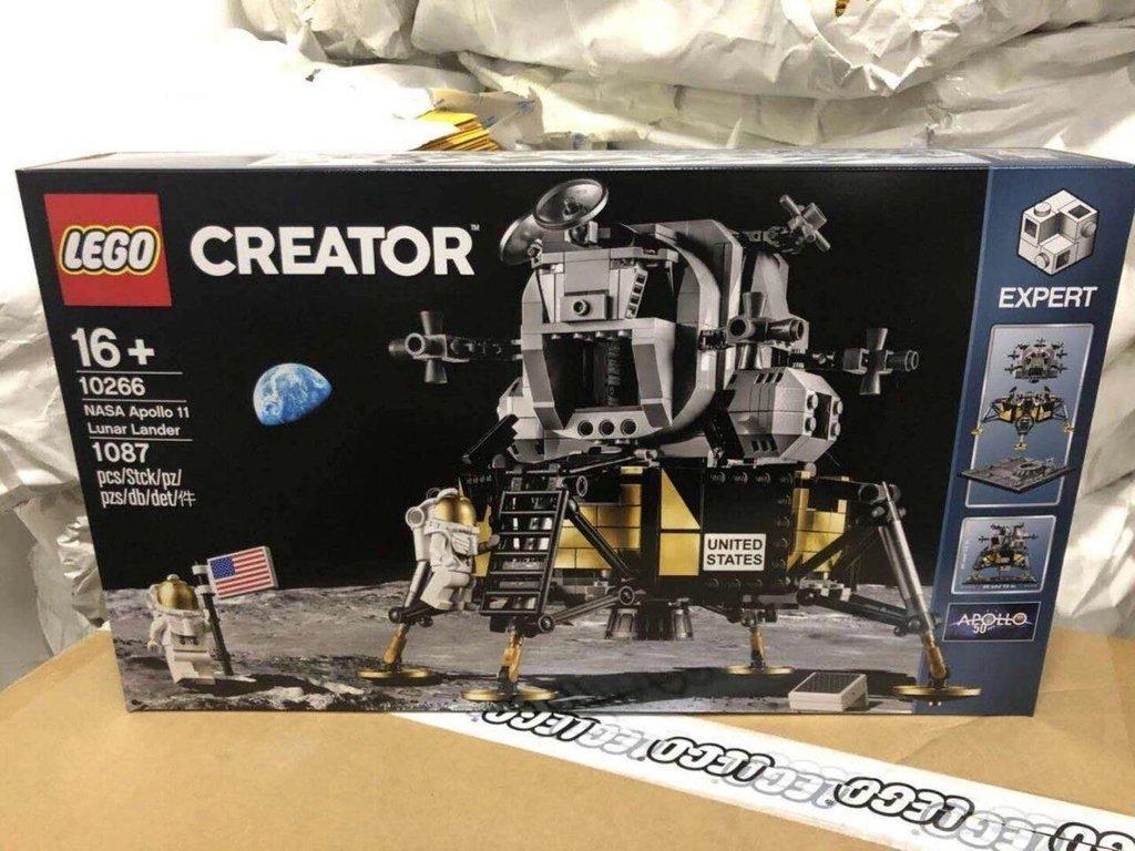 lego creator 10266 Nasa Apollo Lunar Lander