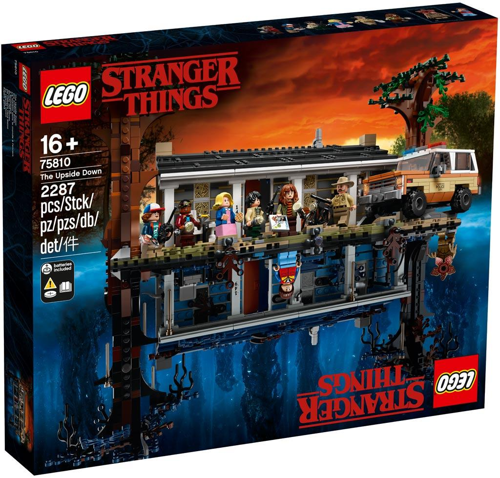 75810: LEGO® Netflix Stranger Things The Upside Down / Die andere Seite