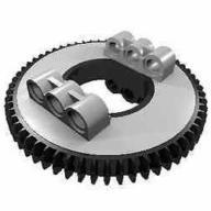 1-x-neu-LEGO-Technik-Drehkranz-groß-Typ