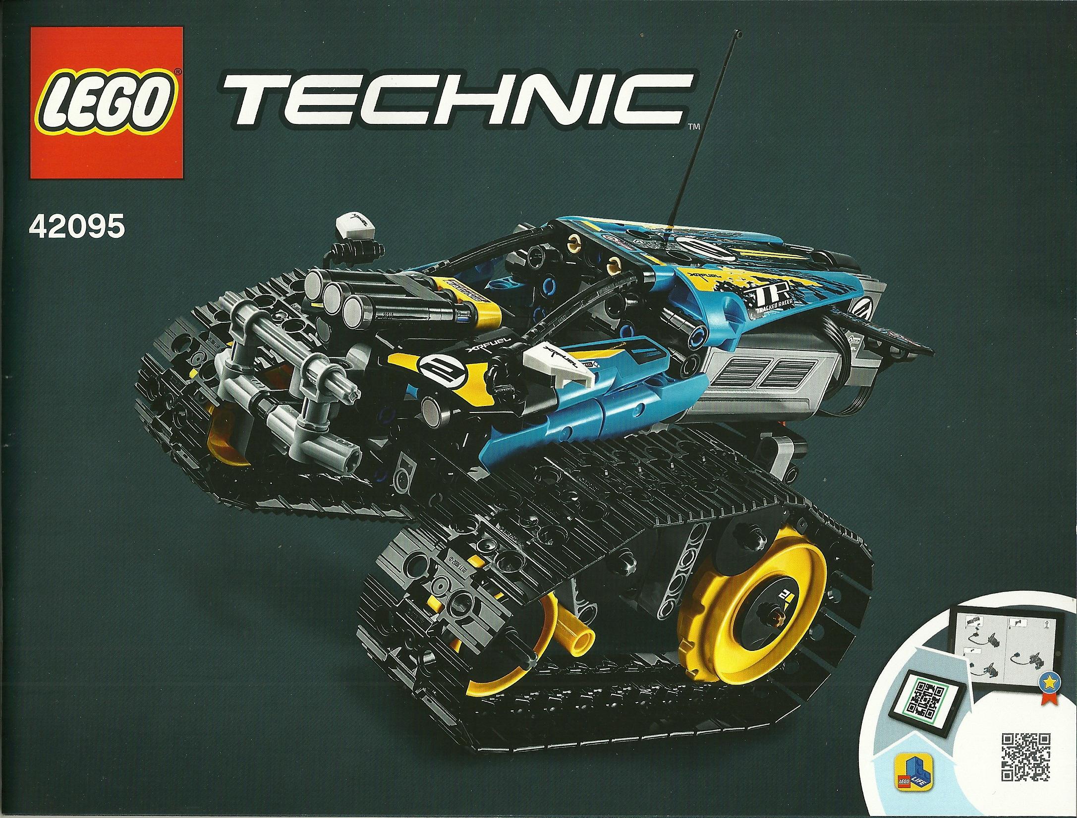 42095 LEGO Technic Bauanleitung Remote Controlled Stunt Racer Ferngesteuerter Stunt Racer