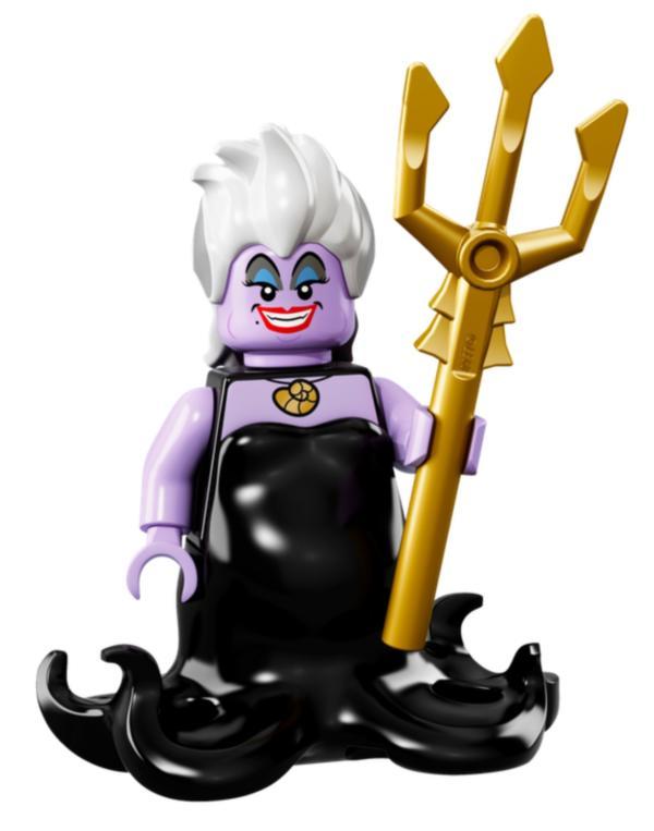 Lego Minifigur Disney's Serie 1 Ursula die Meerhexe Figur 17 (71012)