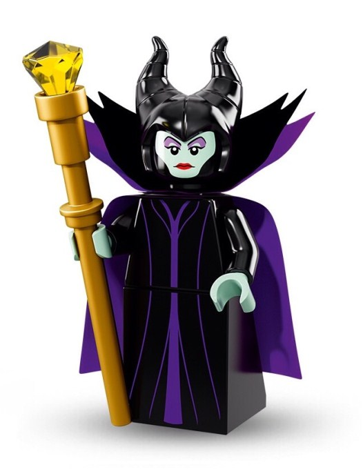 Lego Minifigur Disney's Serie 1 Maleficent Figur 6 (71012)