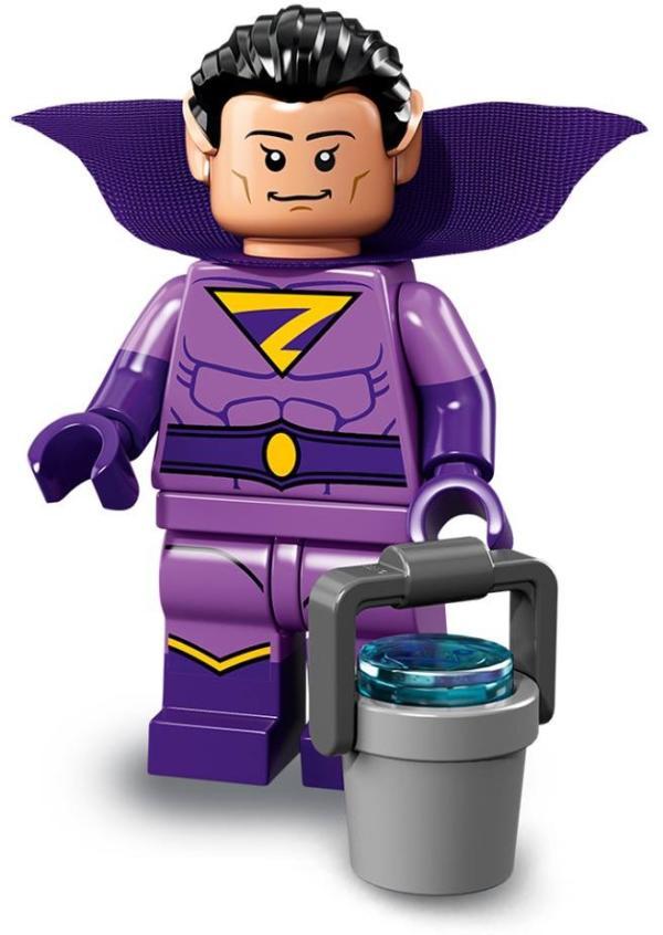 Lego Batman Movie Minifigur Serie 2 Wonder Twin (Zan) Figur 14 (71020)